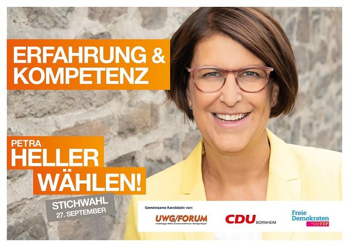 UWG/Forum unterstützt Bürgermeisterkandidatin Petra Heller